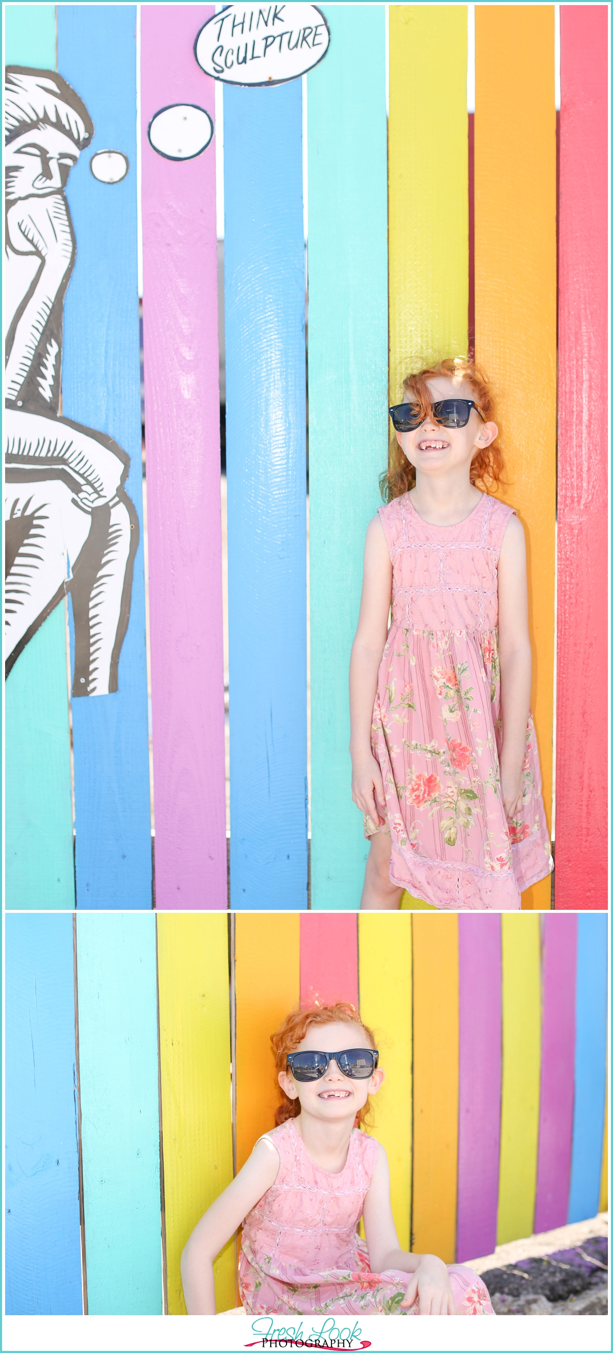 quirky little girl photography