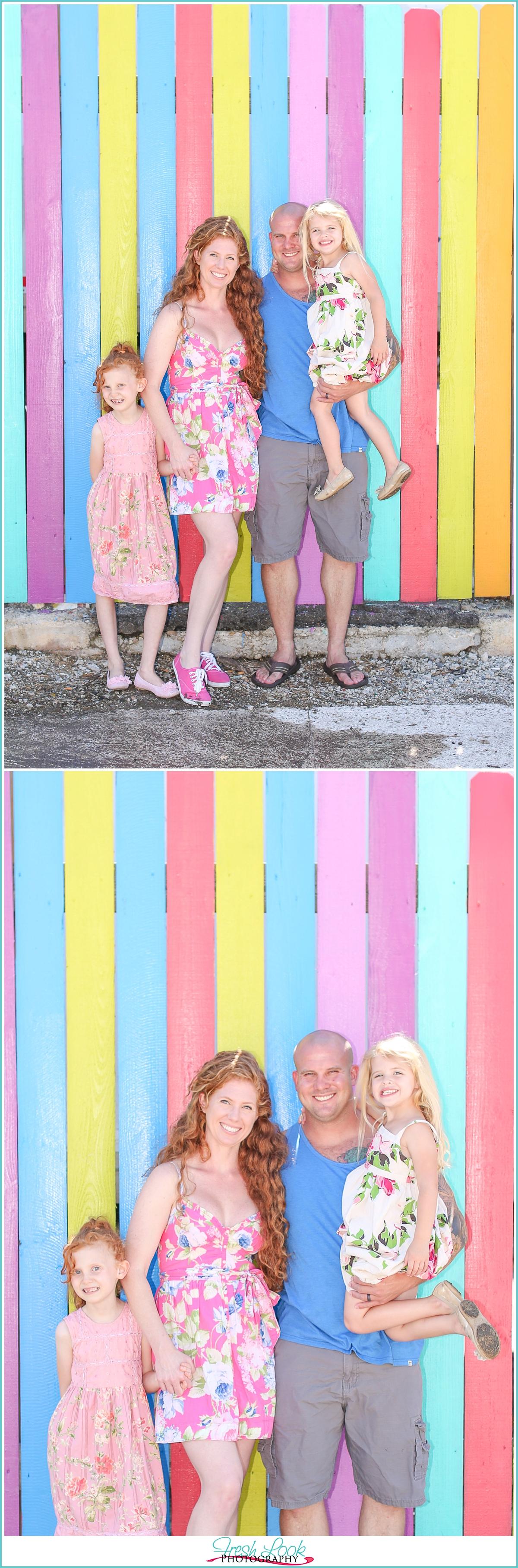 fun family photos downtown Norfolk