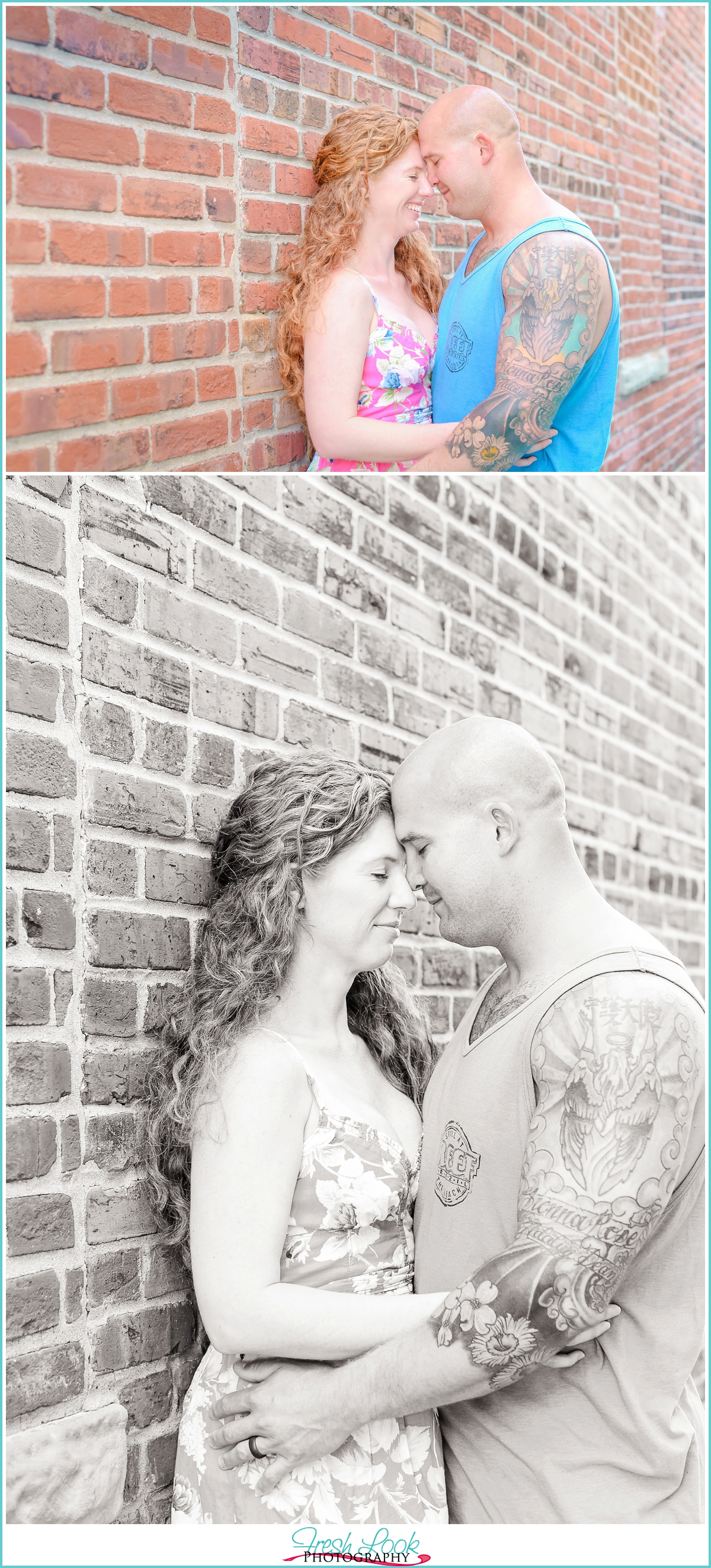 military couple anniversary session