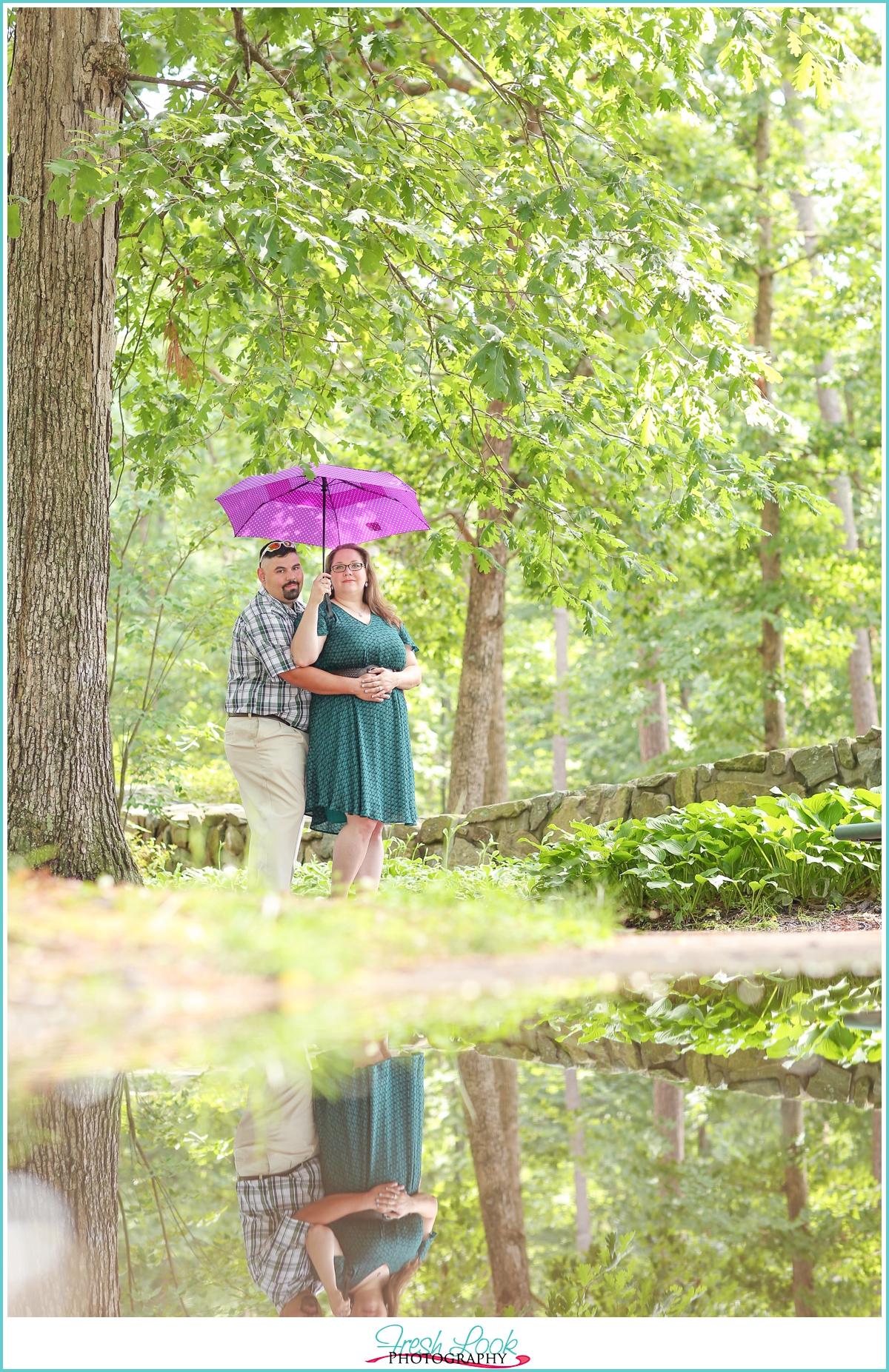 you are my umbrella in the rain