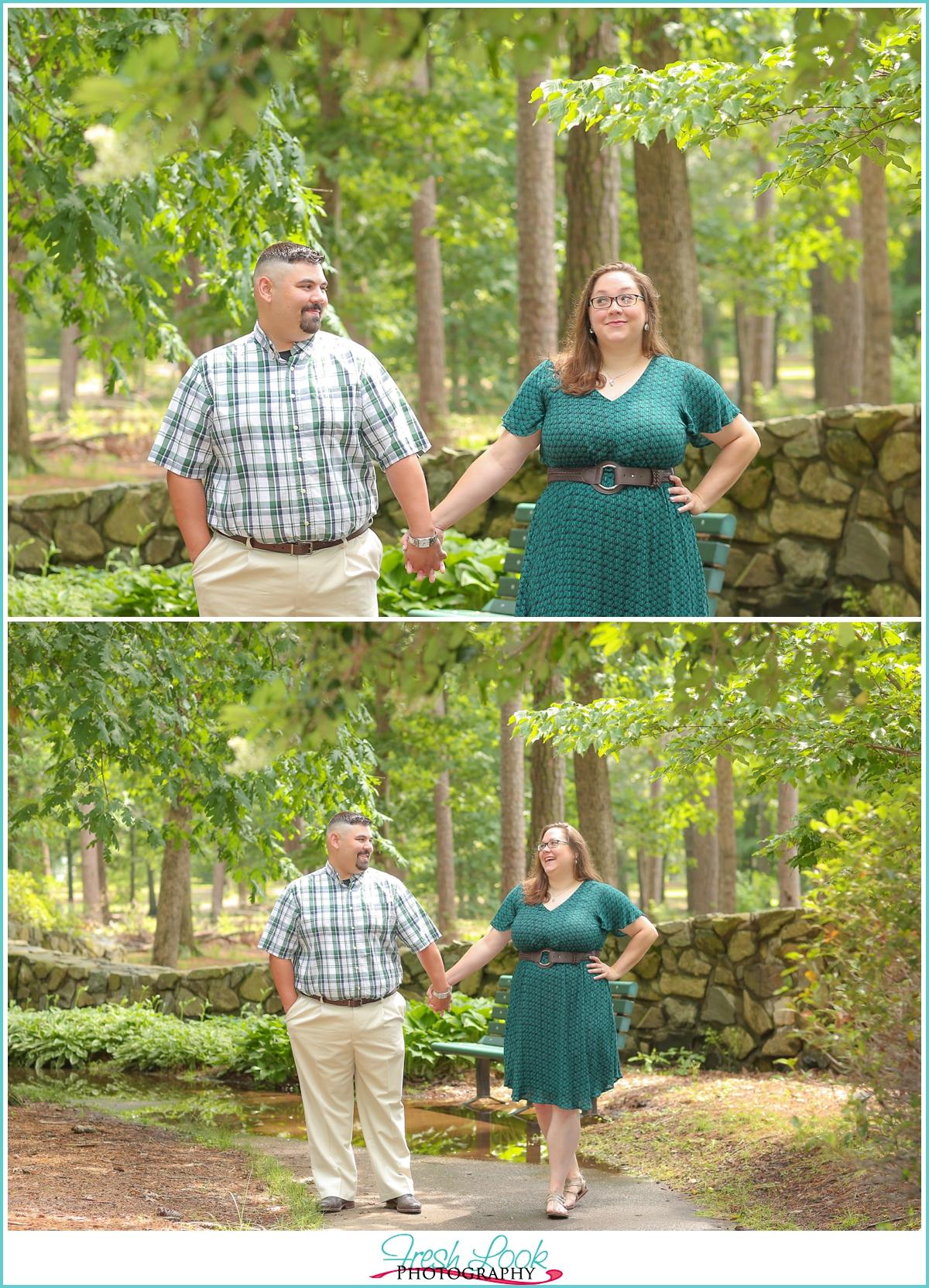 Bayville Farms Park engagement session