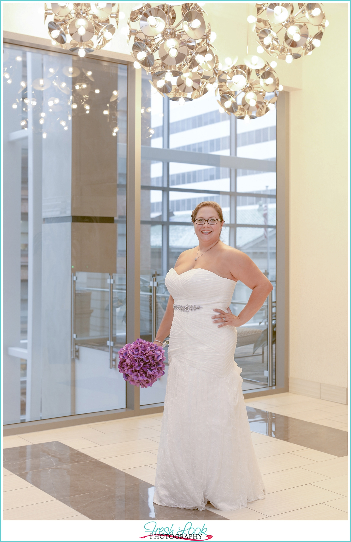 bridal session in the hotel