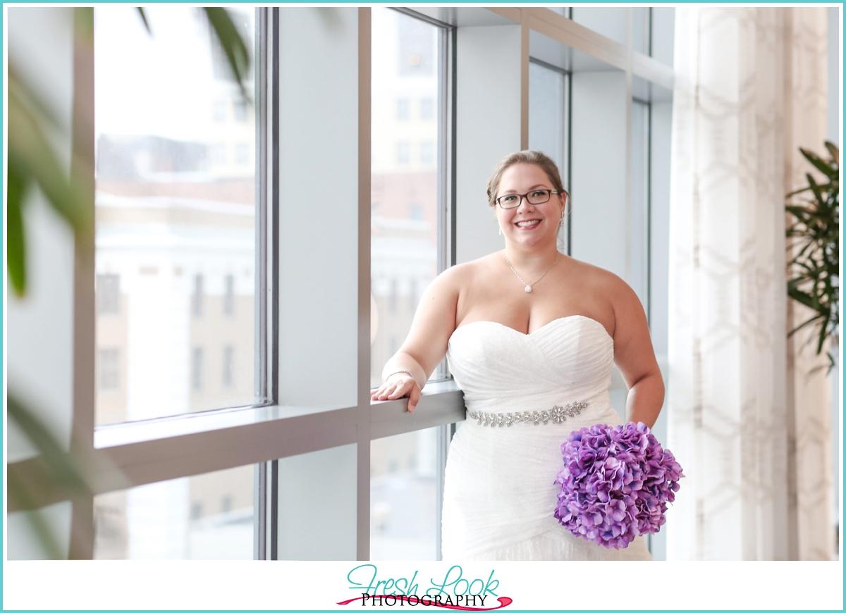 Norfolk bridal portrait photographer