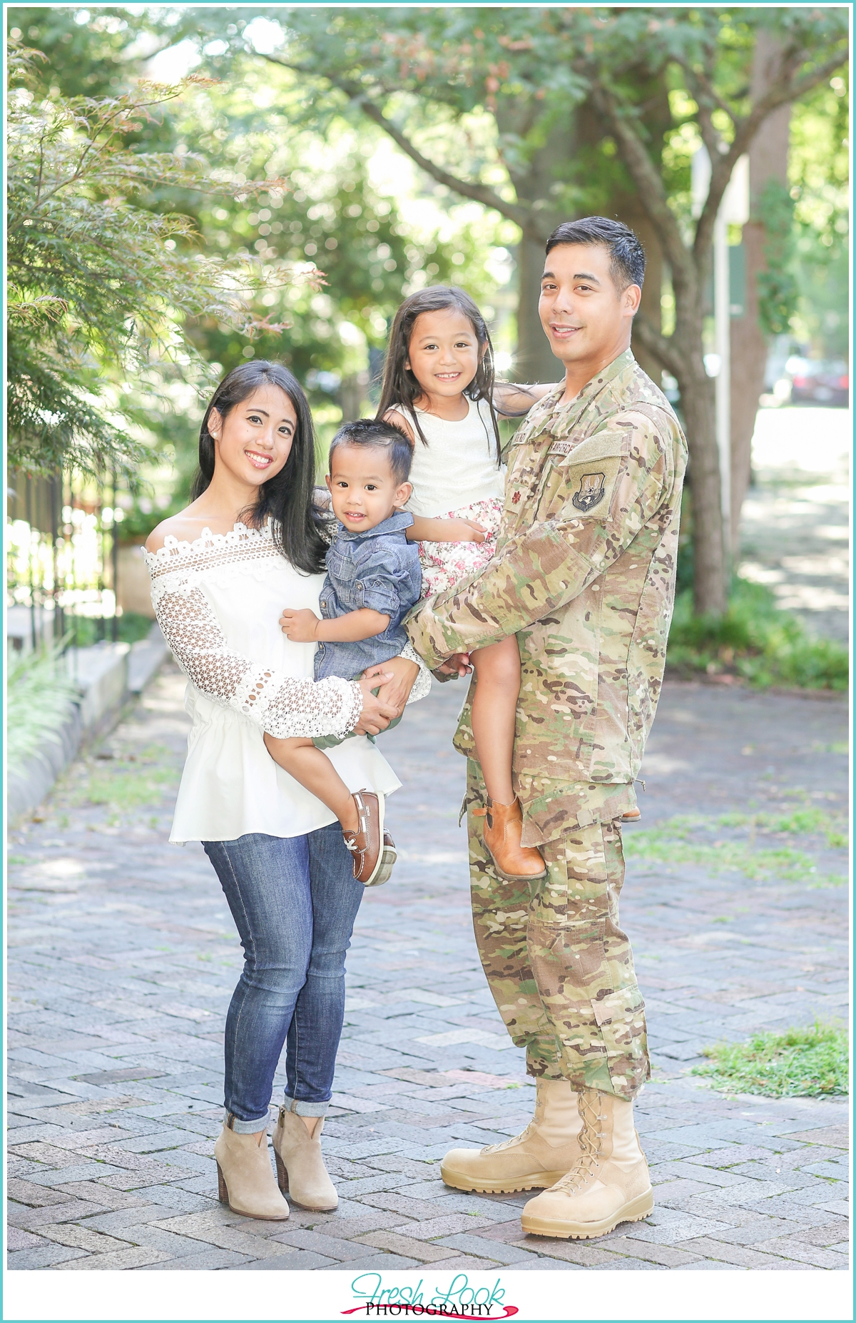 Air Force Family Session