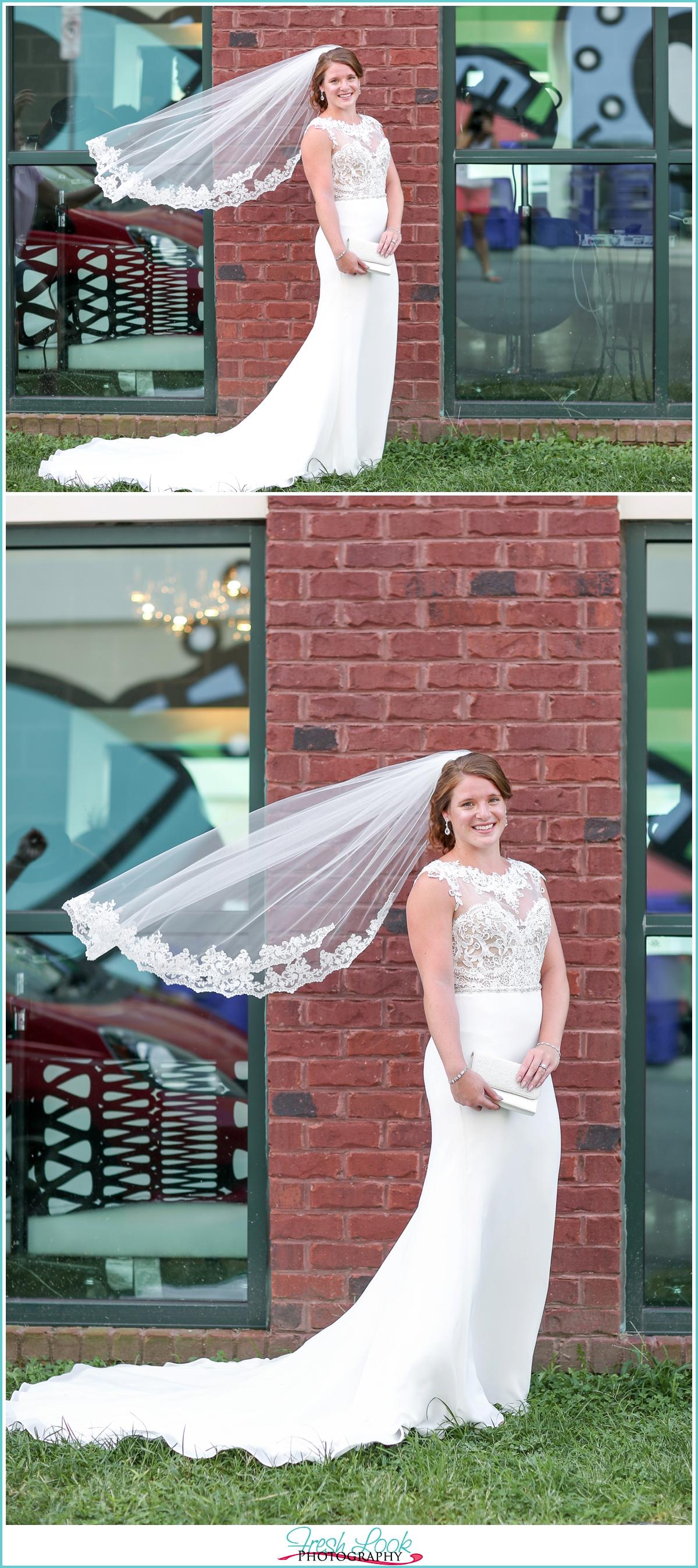 Norfolk Neon District Bridal Session
