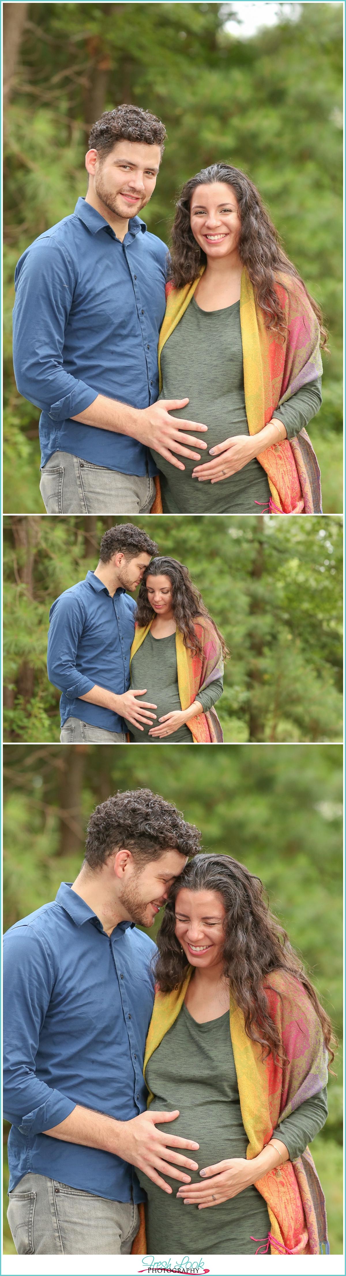 romantic maternity photo shoot
