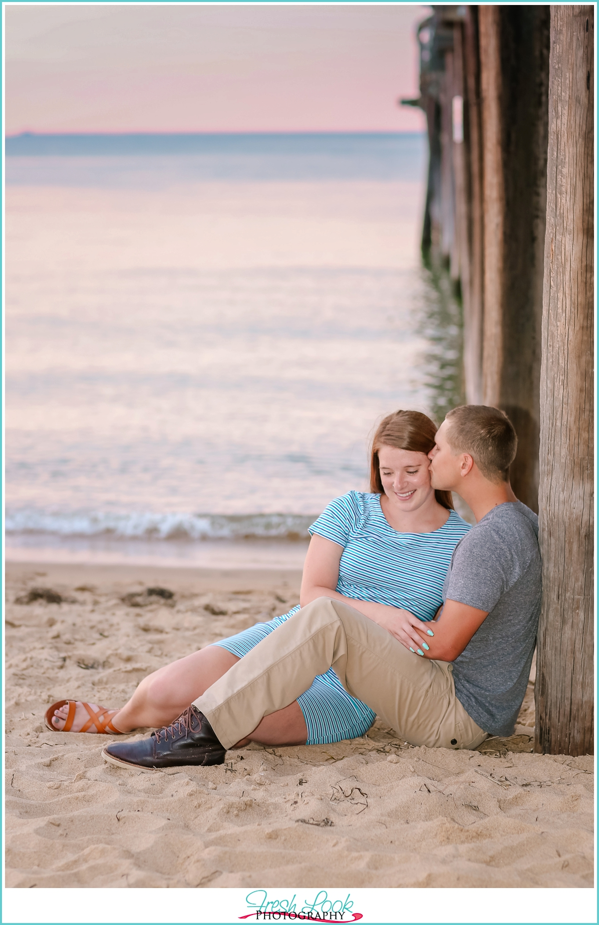 romantic Virginia Beach photographer