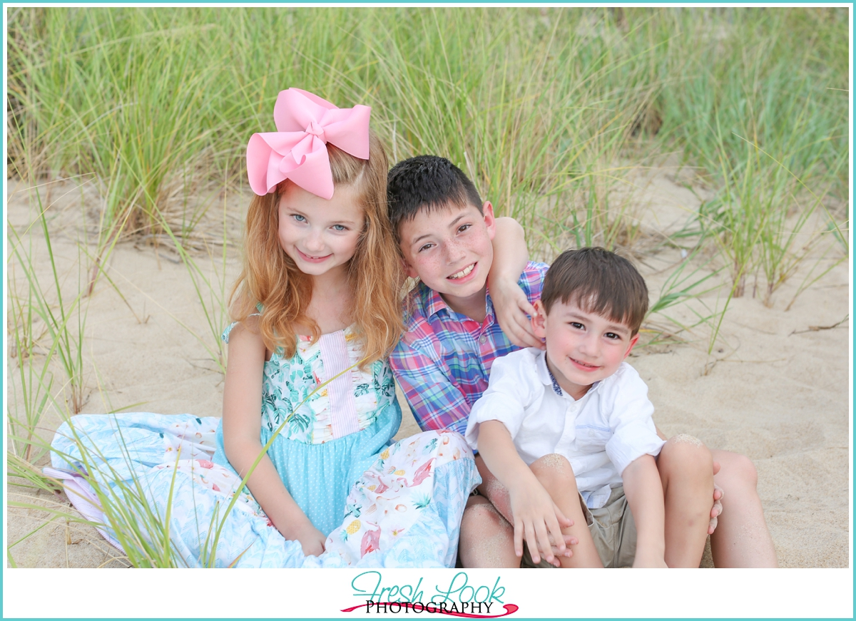 siblings photo shoot Virginia Beach