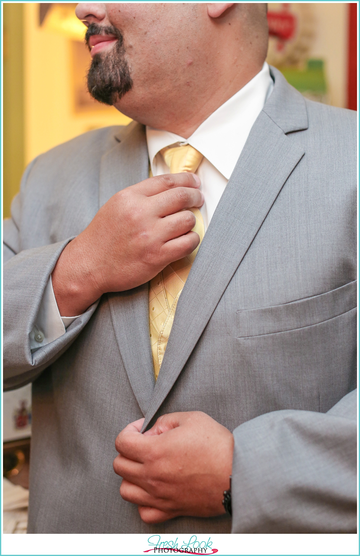 classy groom posing ideas