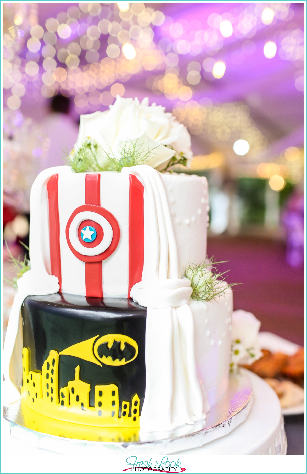 superhero wedding cake batman wedding cake