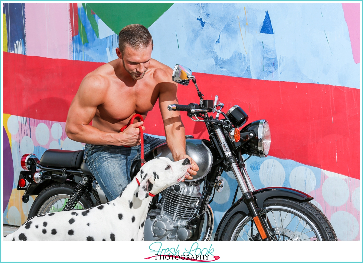sexy men and motorcycle