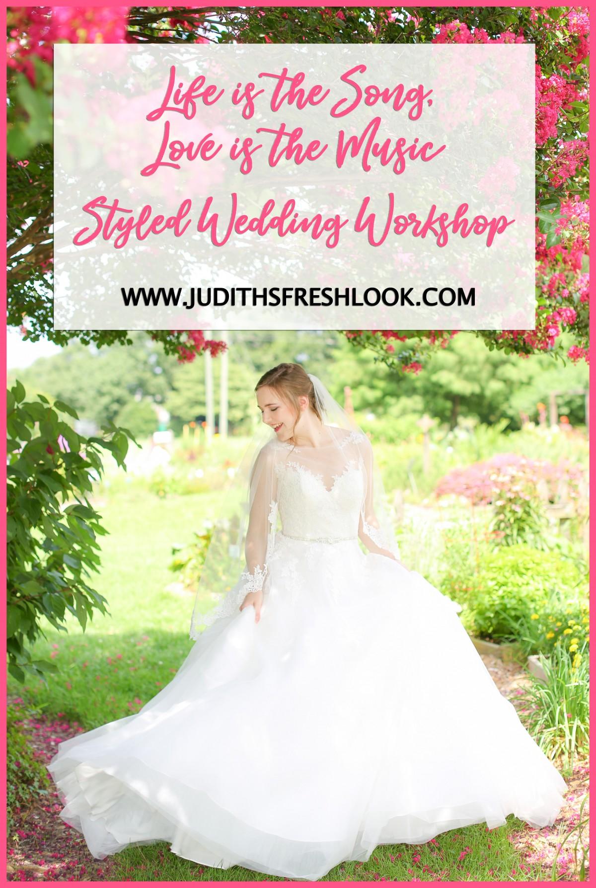 Styled Wedding Workshop in Chesapeake, VA