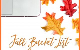Ultimate Fall Bucket List