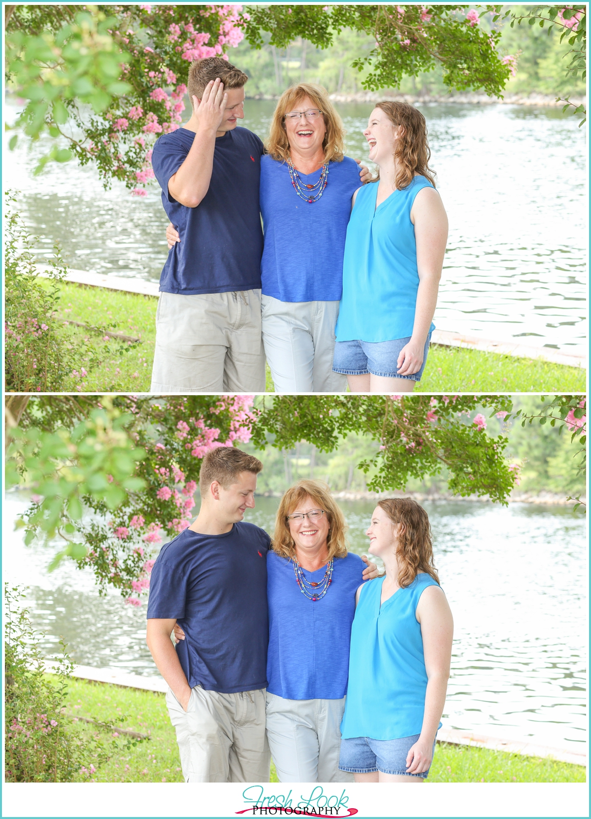 mom and her kids photo