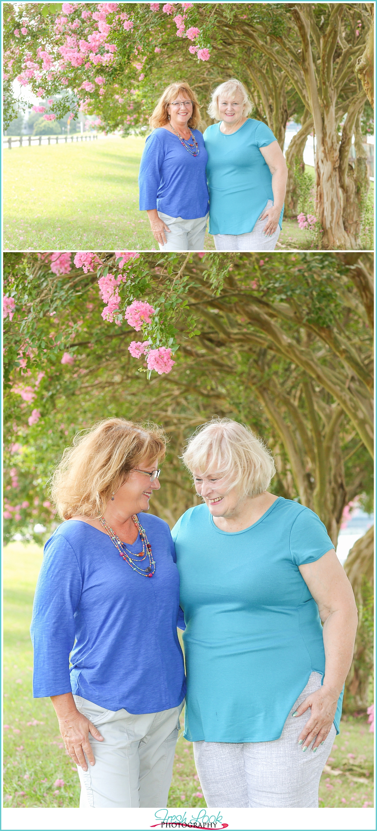 older women fun photo shoot