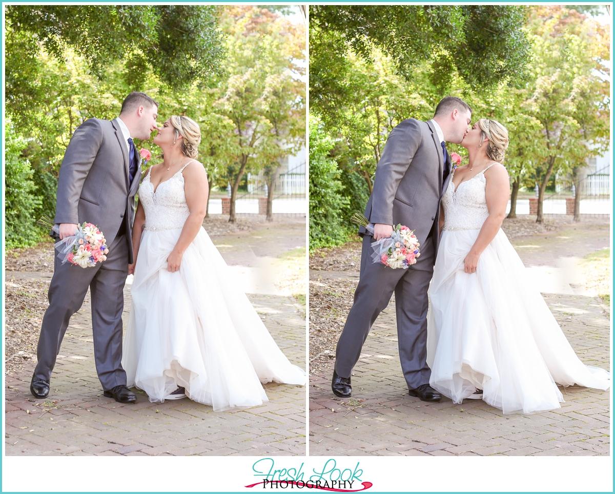 soft and romantic wedding photographer