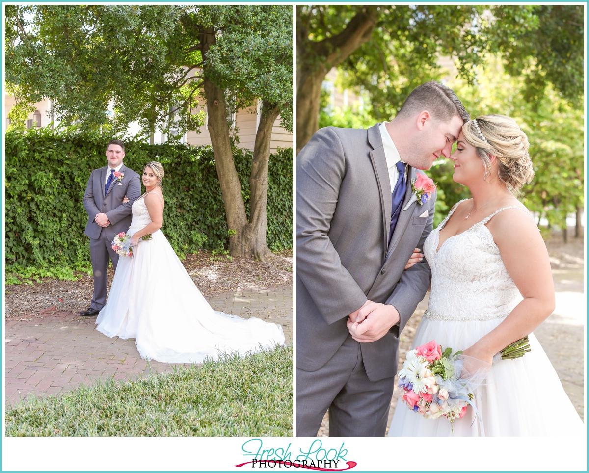 romantic Virginia Beach wedding photographer