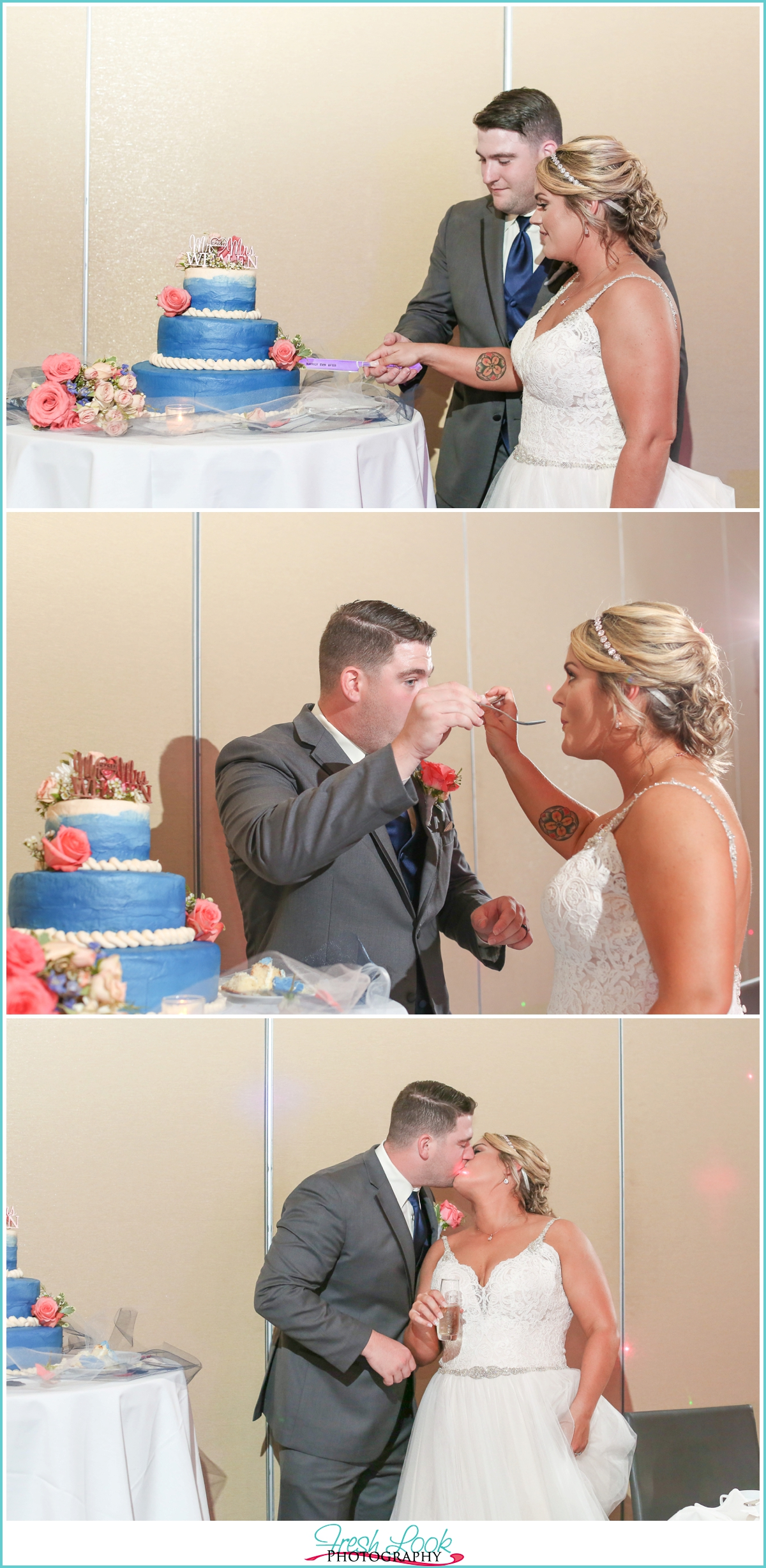 Let them eat cake at the wedding