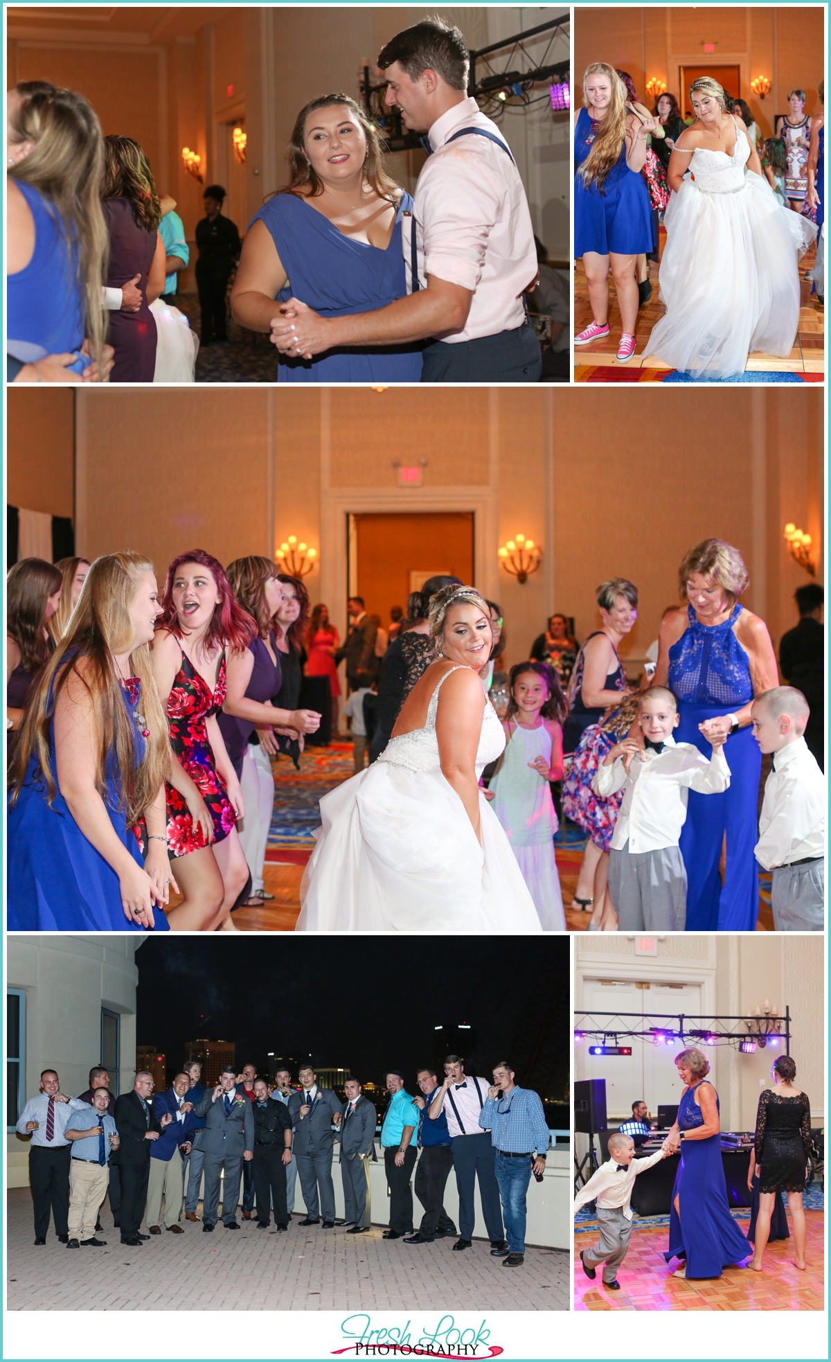 party like a rockstar at the reception