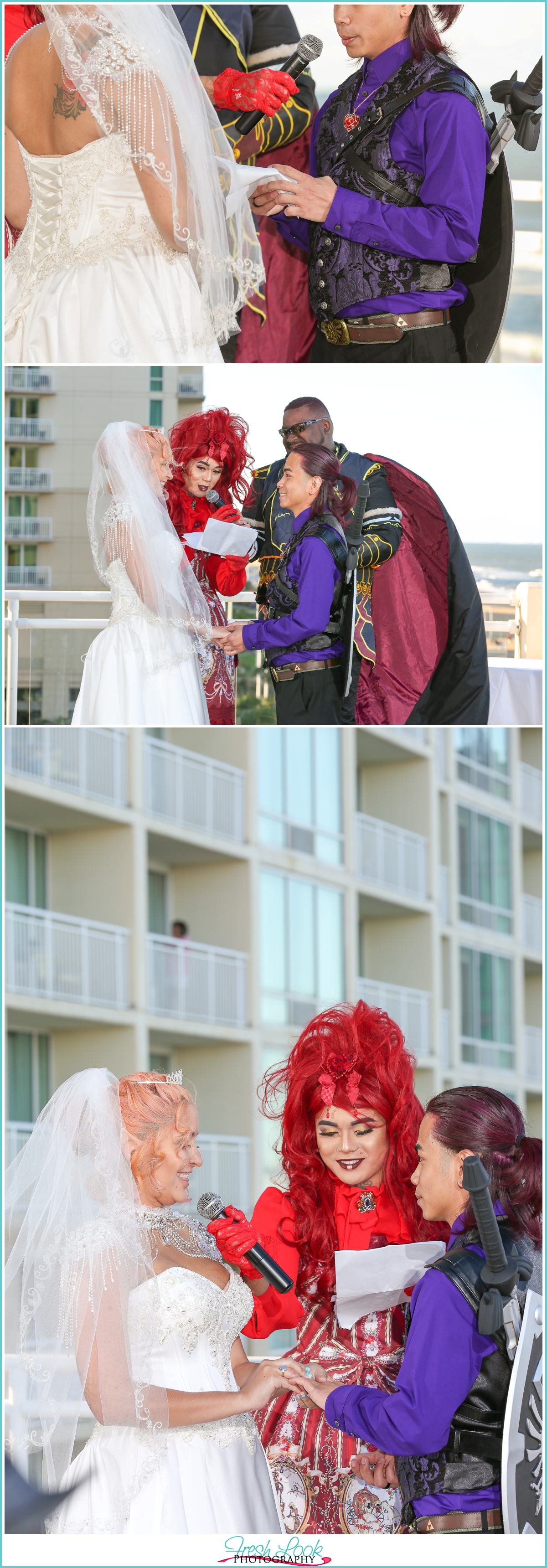 special moments during the wedding ceremony