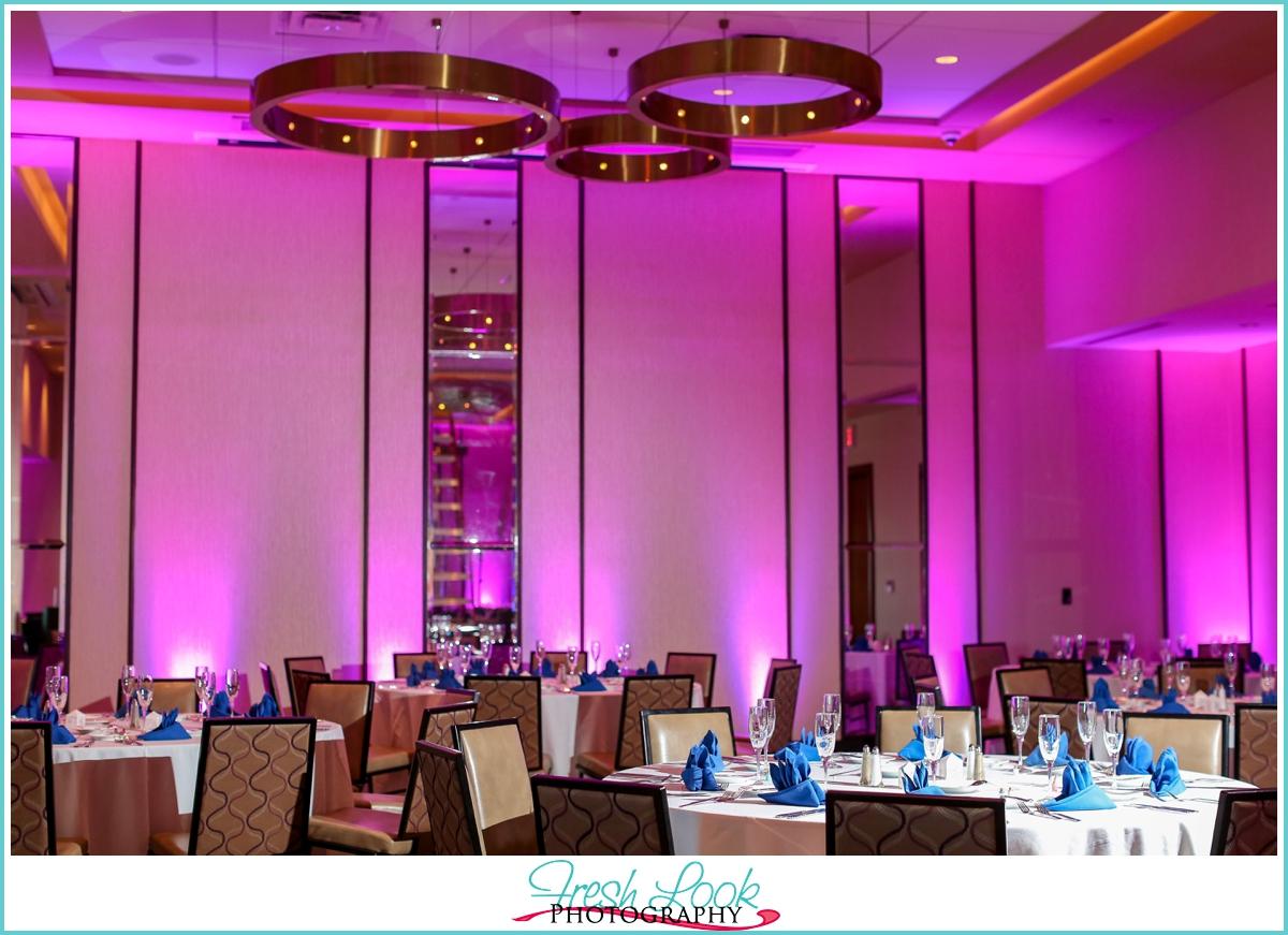 Hilton Garden Inn wedding reception
