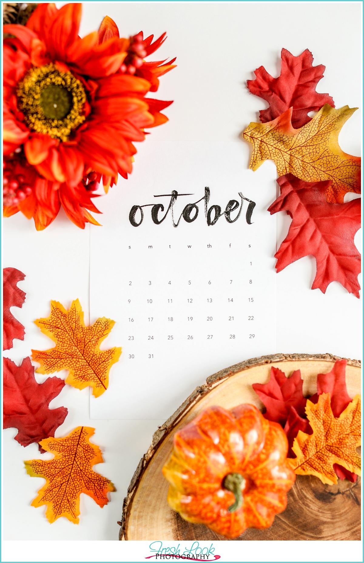 October 2017 Monthly Goals