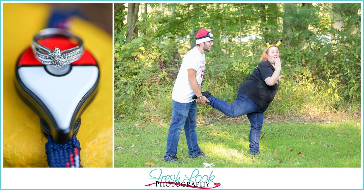 Pokémon engagement session