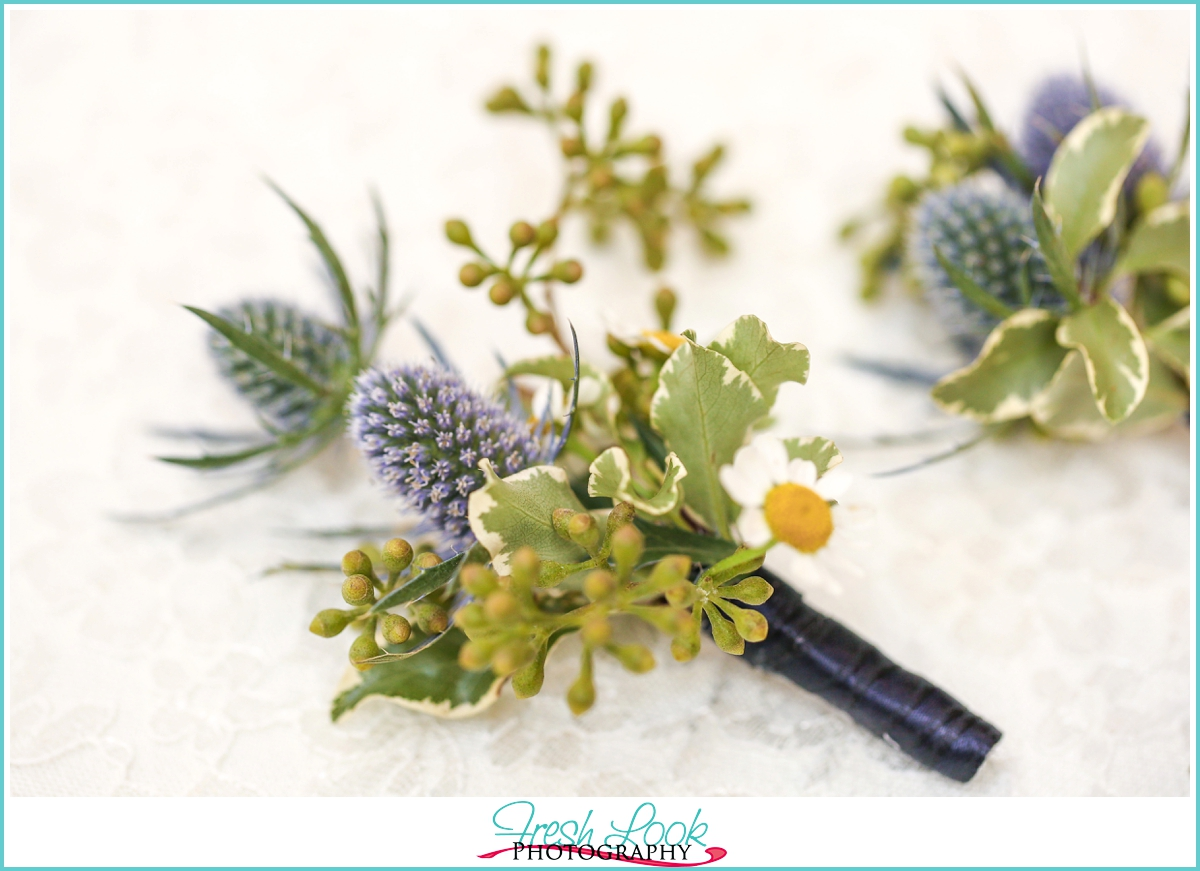 Isha Foss Floral Designs boutonniere