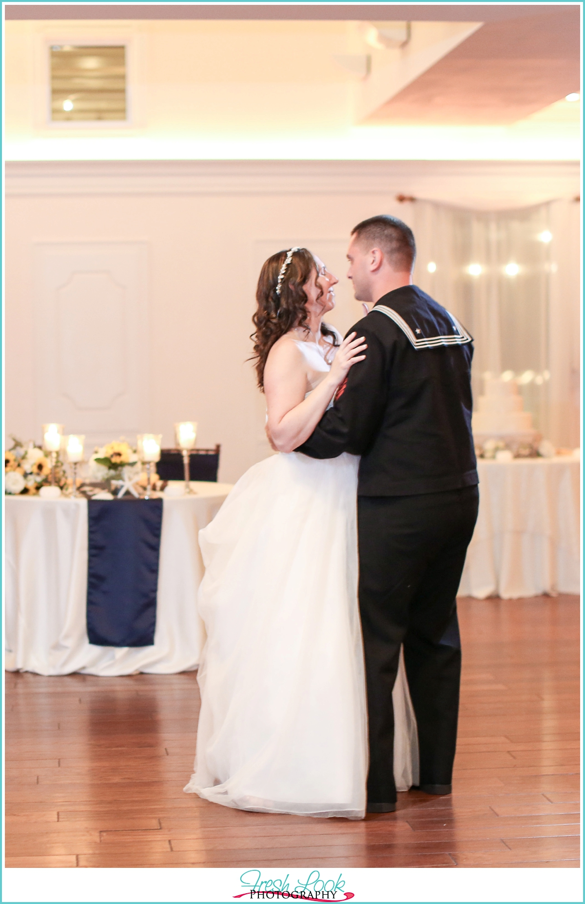 Yacht Club wedding photography reception