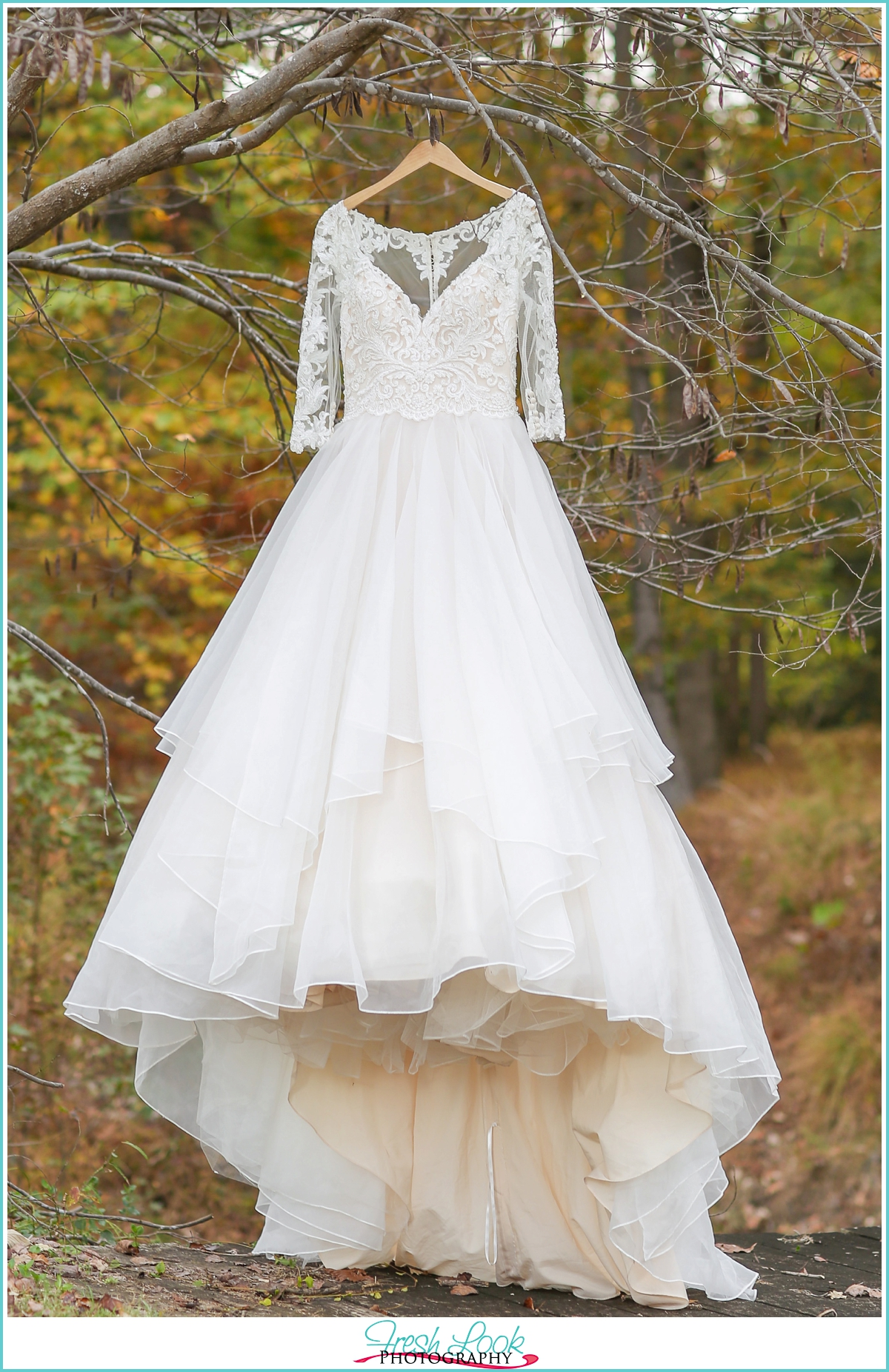lace wedding dress from Blush Bridal