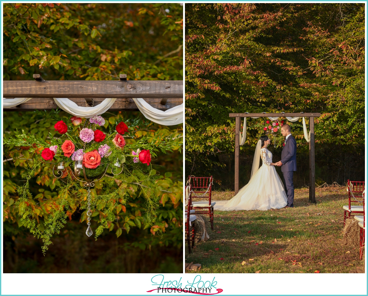 Virginia farm wedding ceremony venue