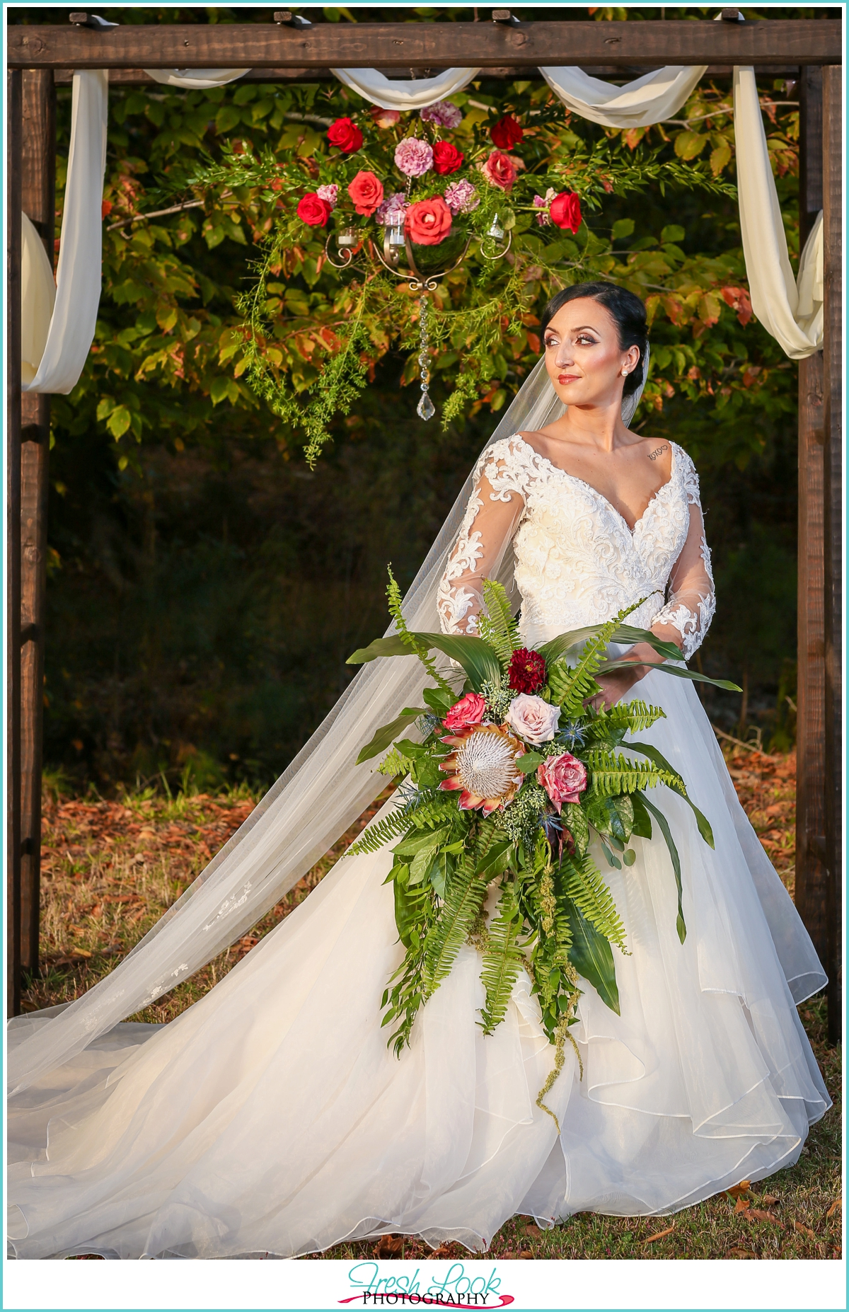 rustic farm wedding Franklin Virginia
