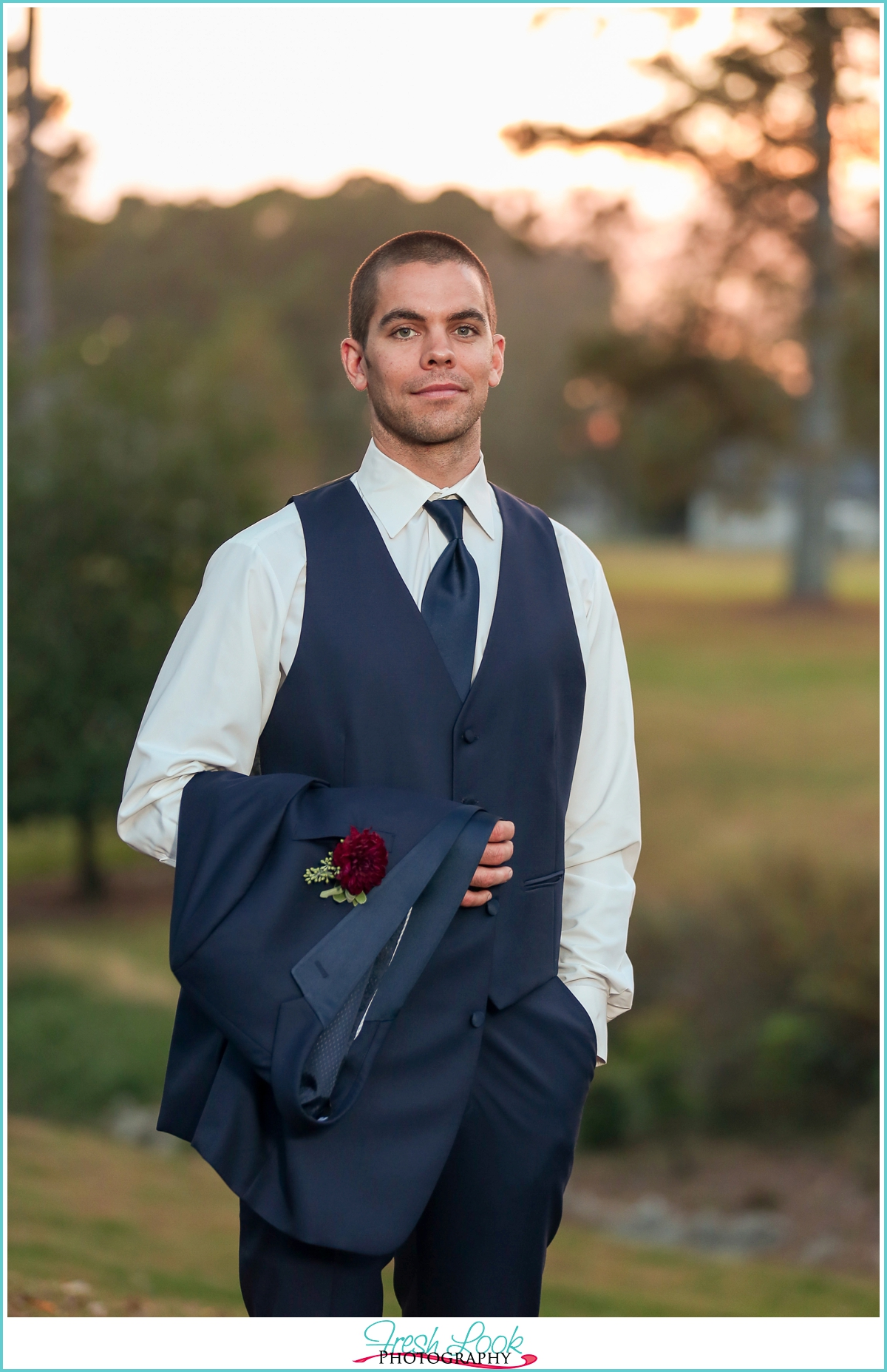 Dapper Groom Portraits