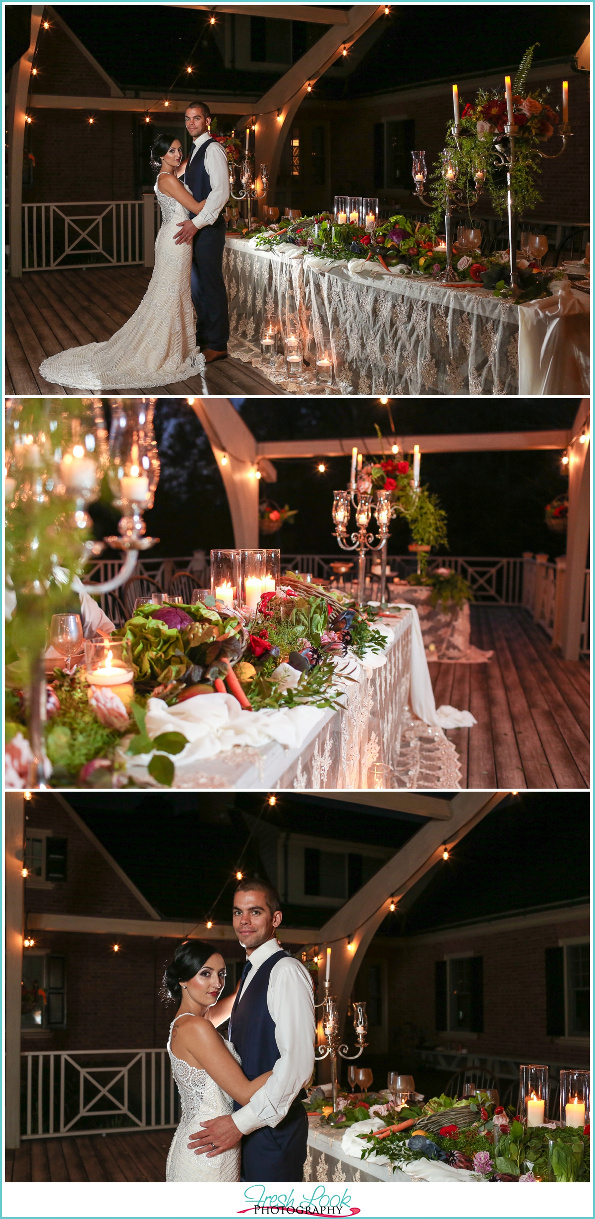 Virginia Farm Wedding reception
