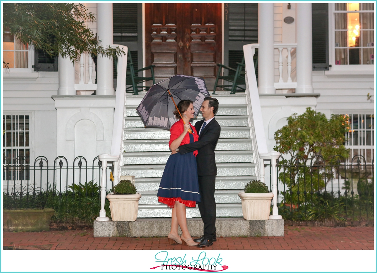 Mary Poppins Engagement Shoot