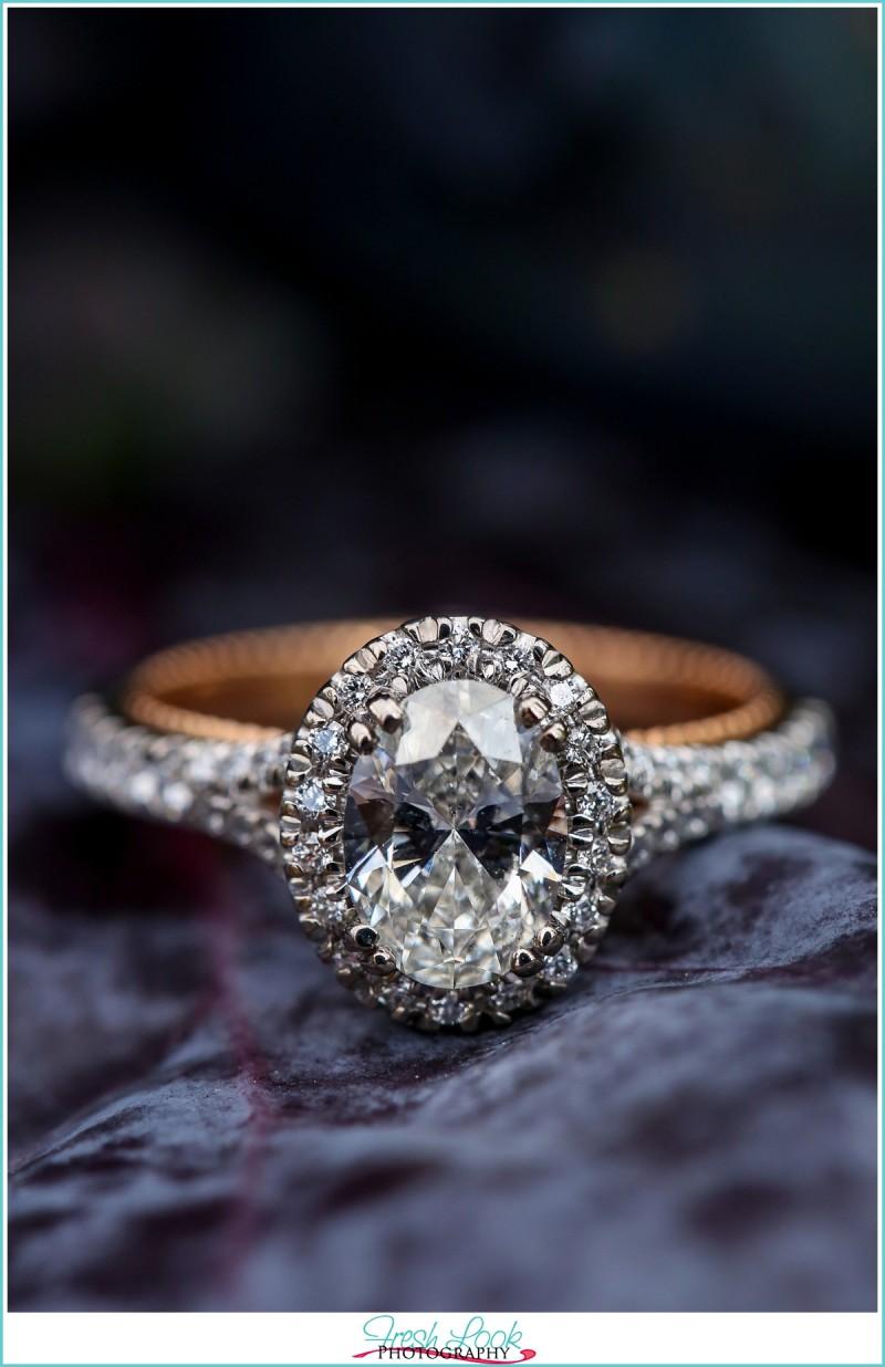 My big fake engagement ring