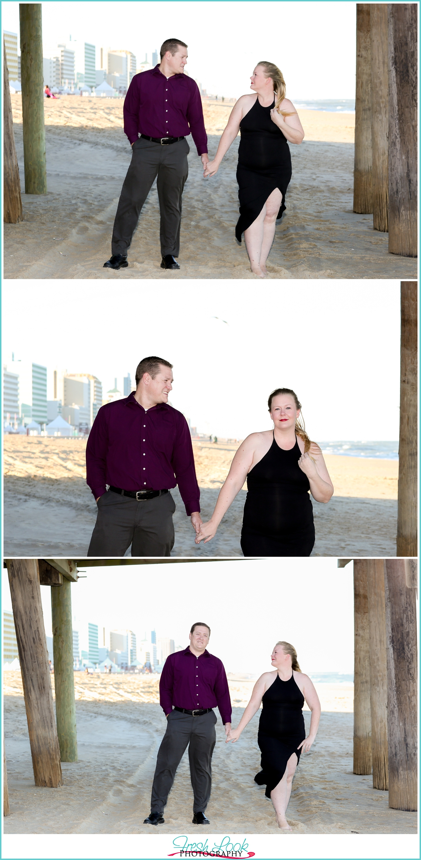 Virginia Beach couples photo session