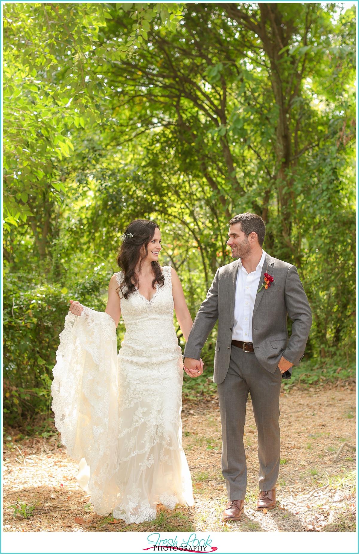 Woodsy Boho Wedding at Church Point Manor