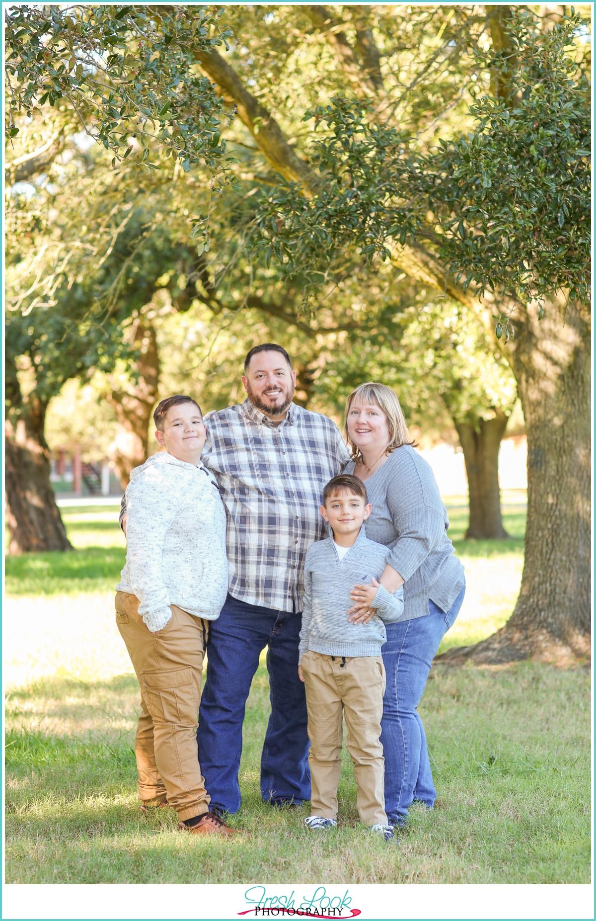 Fort Monroe Family Session