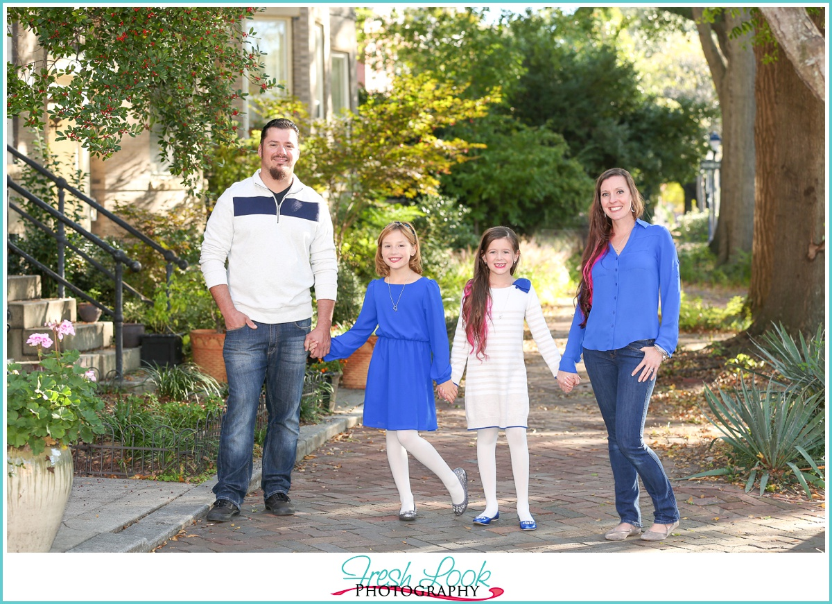 family photo shoot in Norfolk