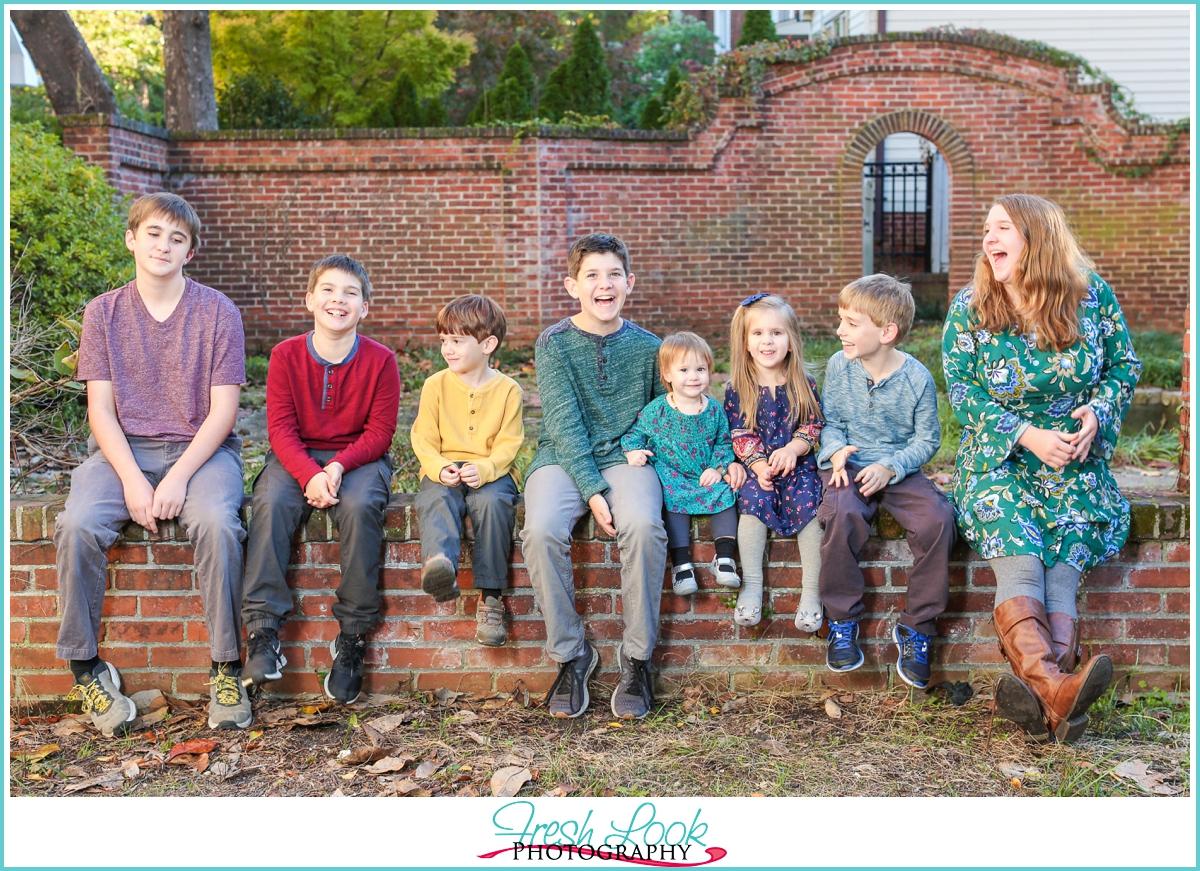 Historic Freemason family photo shoot