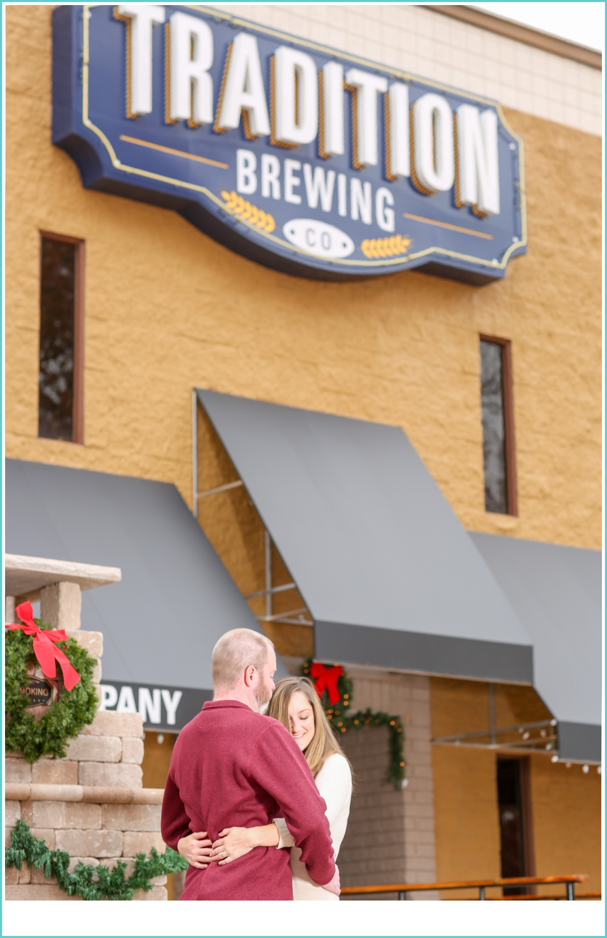 Traditions Brewing Engagement Session
