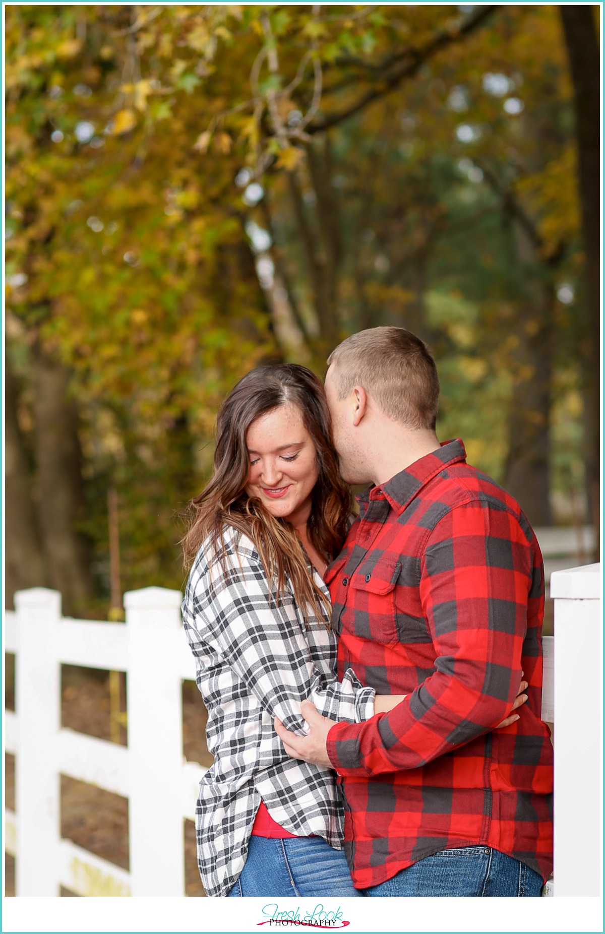 romantic engagement photo shoot