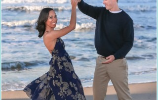 Windy Virginia Beach Engagement Session