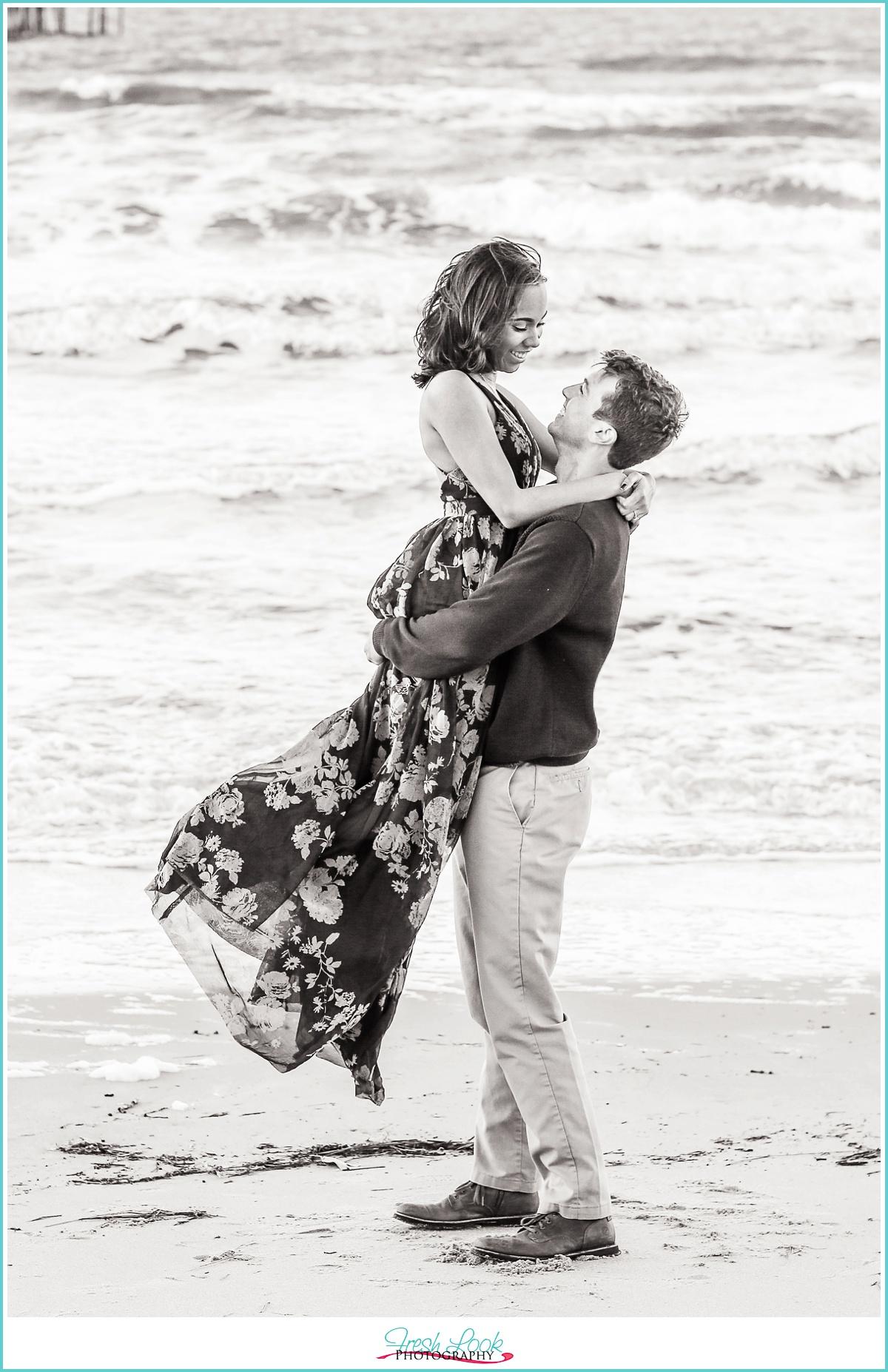 Virginia Beach romantic photos