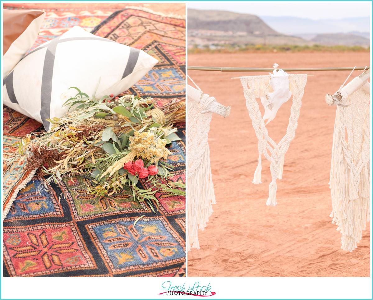 Desert Engagement Photo Shoot