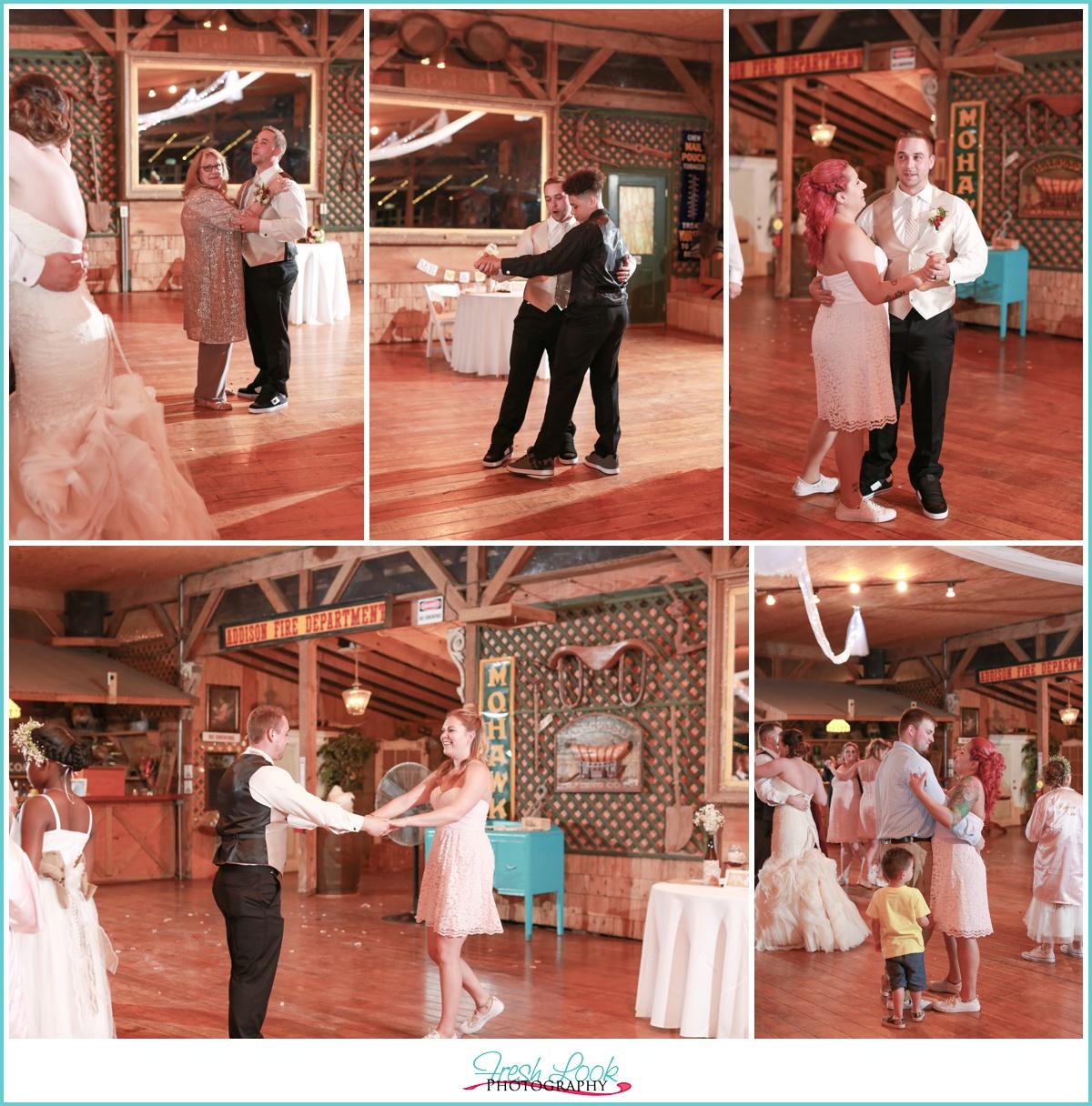 dance floor party time