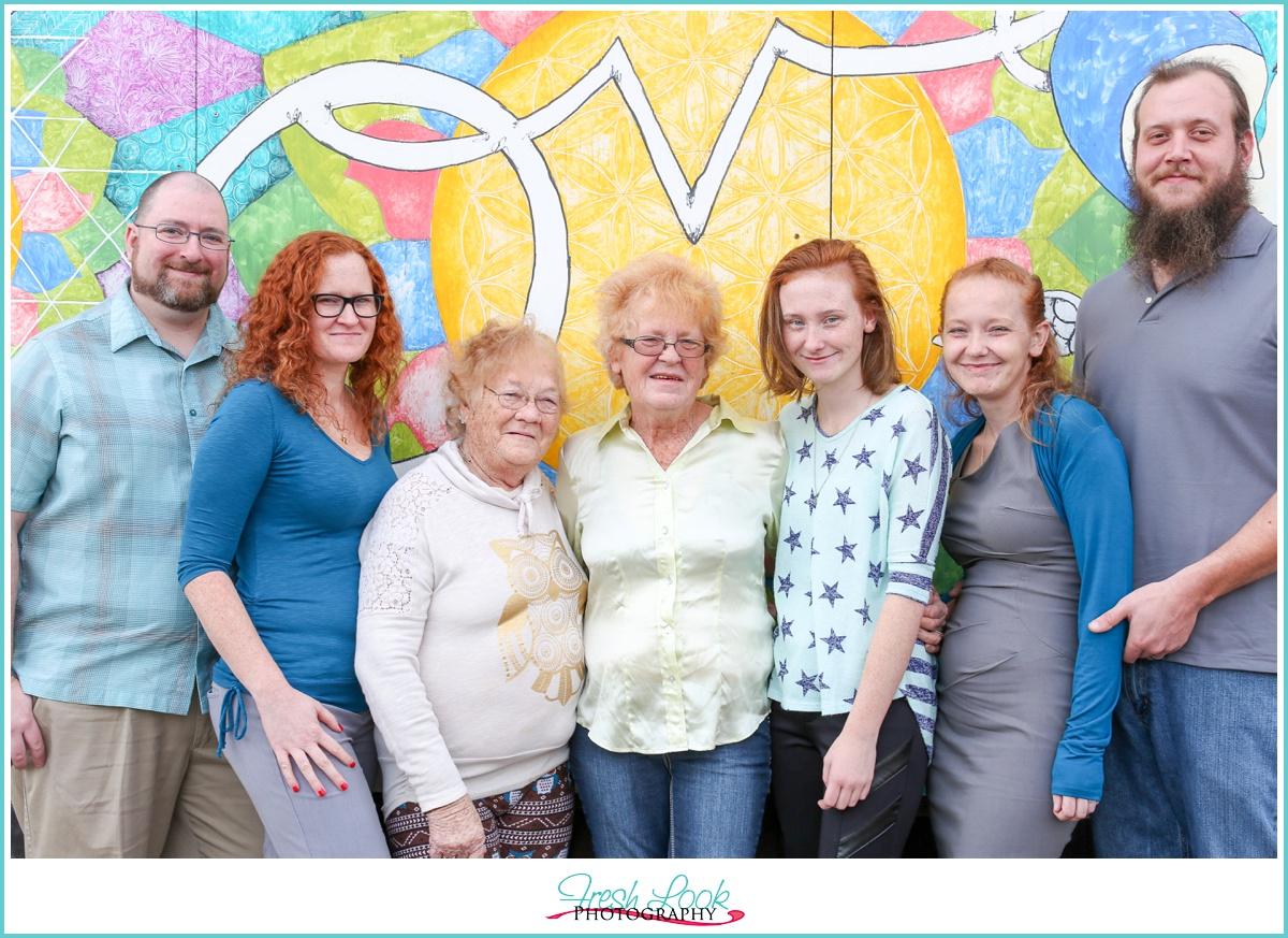 Love mural Downtown Norfolk