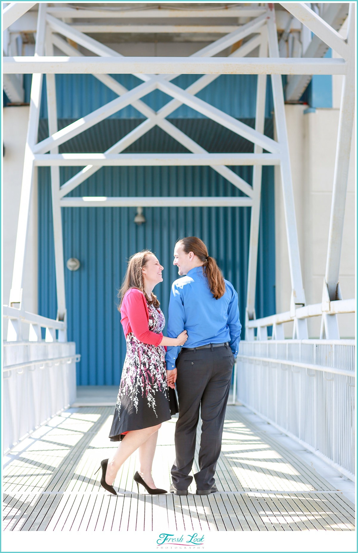 Downtown Norfolk Engagement Photos
