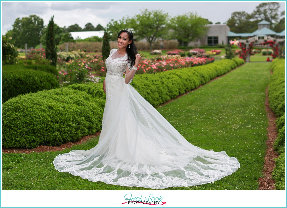 custom couture wedding gown